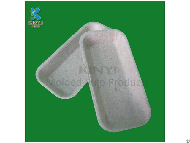 Disposable Paper Pulp Carrot Trays Packaging