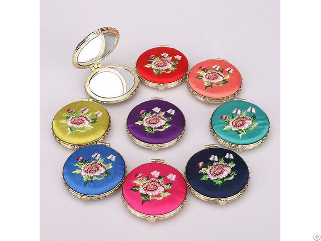 Embroidery Cosmetic Mirror