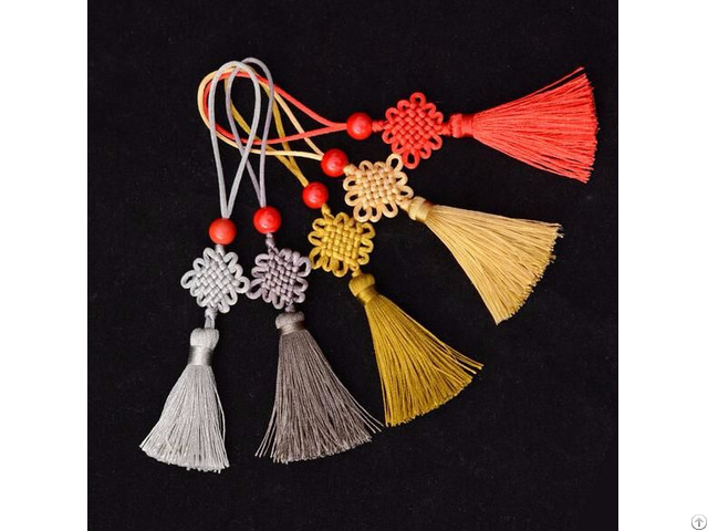 Colorful Knitting Tassels