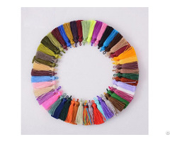 Colorful Knitting Tassel