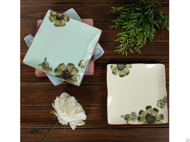 New Style Square Plate Sets