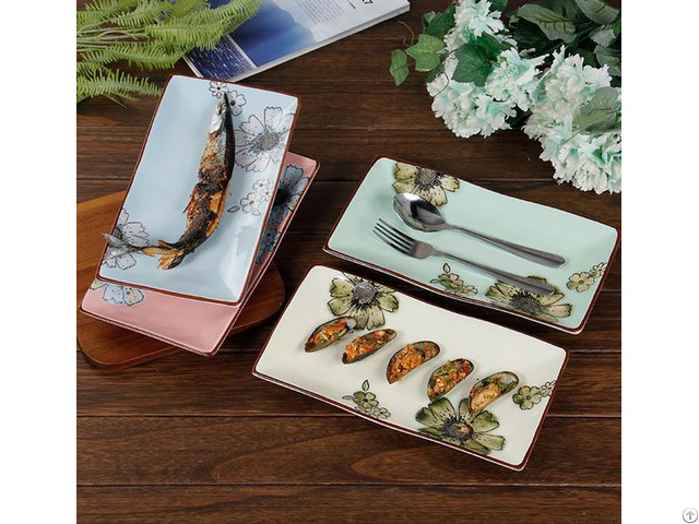 New Style Rectangle Plate Sets