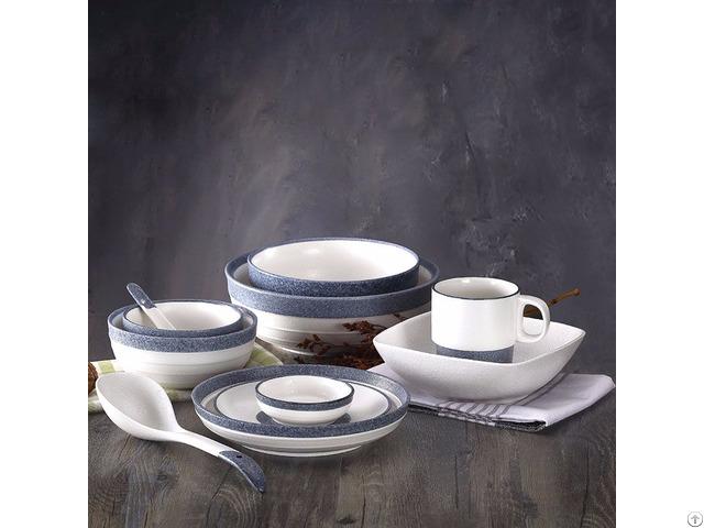 Snow Glaze Ceramic Tableware Set