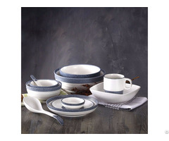 Snow Glaze Ceramic Tableware Set
