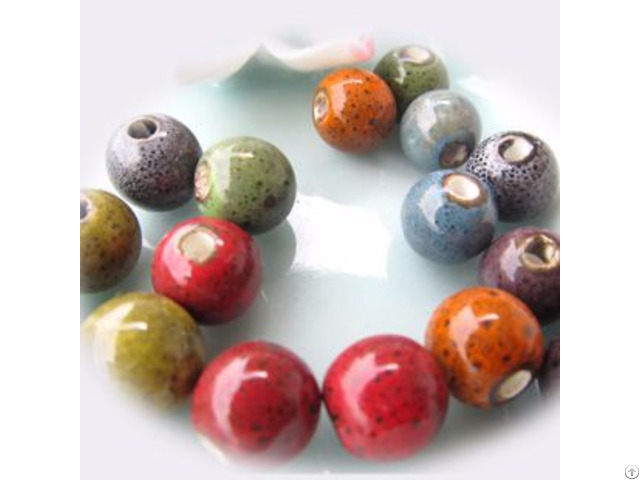 Leopard Ceramic Beads
