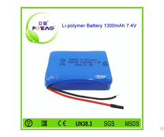 Alibaba China Supplier 783448 1300mah 7 4v Li Polymer Battery