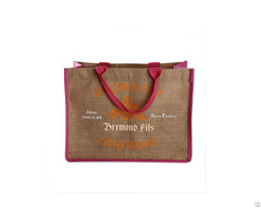 Eco Friendly Natural Jute Tote Bag