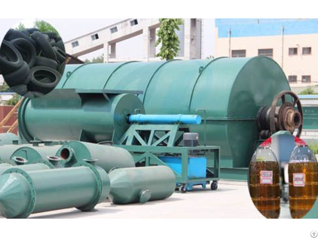 Waste Tyre Recycling Pyrolysis Plant In Usa