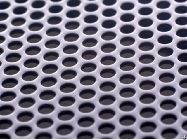 Ss And Aluminum Perforated Metal Sheet