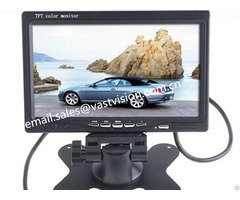Portable 7 Inch Tft Lcd Monitors With 2 Av Bnc Hdmi Input Optional