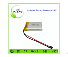 Protection Board 114058 3 7v 2900mah Li Polymer Battery