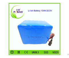 Rechargeable 18650 Electric Bike Lithium Ion Battery 24v 13ah