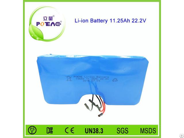 Deep Cycle 18650 Li Ion Battery Pack 24v 11 25ah