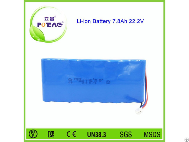7800mah 24v Li Ion Battery 18650 For Electric Bicycle