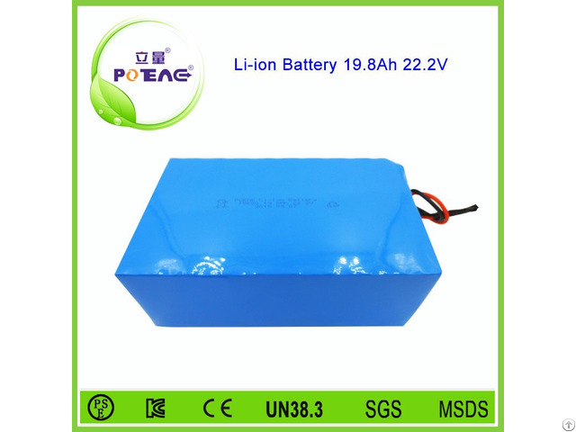 Korean 18650 Cell 20ah 24v Rechargeable Lithium Ion Battery Pack
