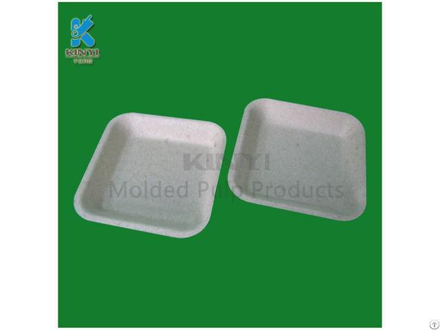 Bagasse Sugarcane Pulp Mushroom Packaging Trays