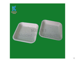 Bagasse Sugarcane Pulp Mushroom Packaging Trays