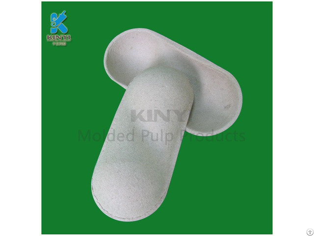 Biodegradable Molding Pulp Peach Packaging