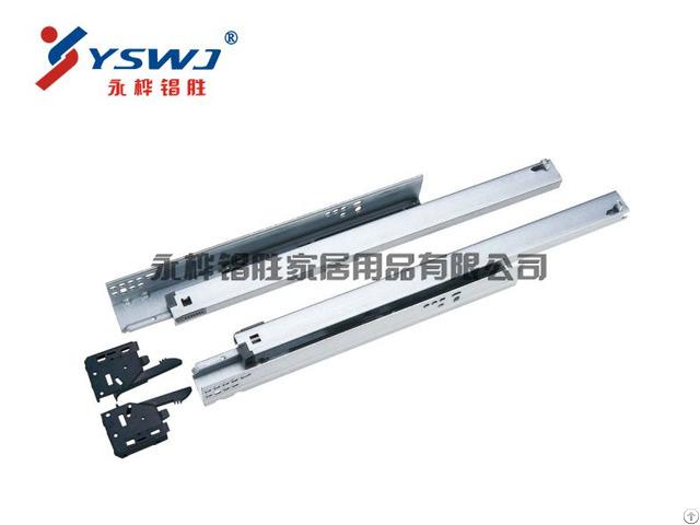 Ys710a Full Extension Clip On Concealed Drawer Slides