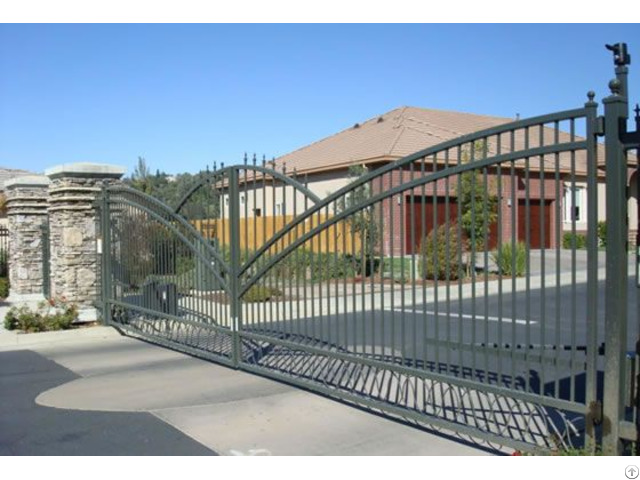 Steel Fencing Gates