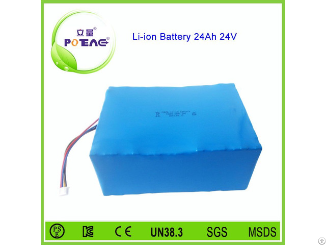 Deep Cycle Golf Cart Lithium Battery 24v 24ah 18650