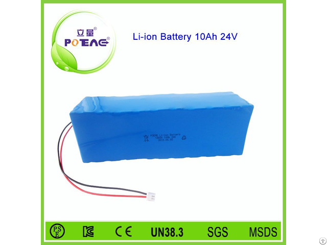 Paypal Acceptable Rechargeable 10ah 24v Mini Lithium Ion Battery Pack