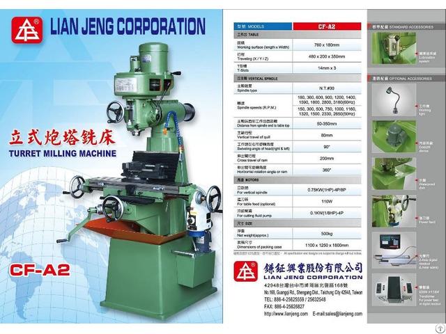 Small Vertical Milling Machine Cf A2