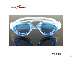 Water Resistance Silicone Swimming Goggles For Scuba Diving