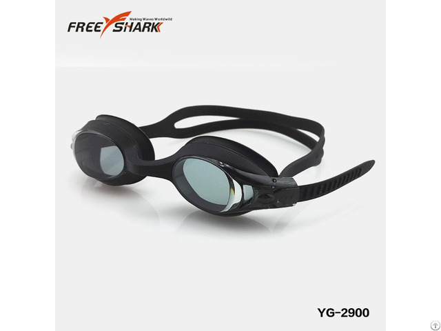 Silicone Automatic Adjustment Swimming Goggles For Kids