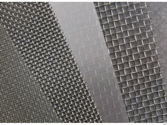 High Duty Plain Woven Stainless Steel Wire Mesh