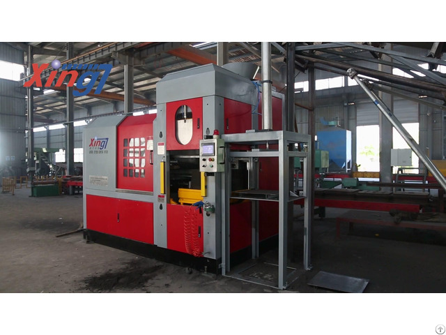 Horizontal Parting Flaskless Molding Casting Machine