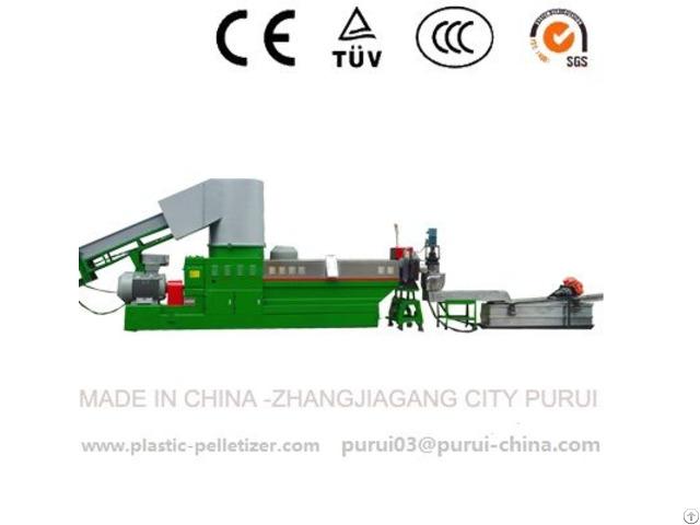 Waste Pe Pp Film Granulation Machine