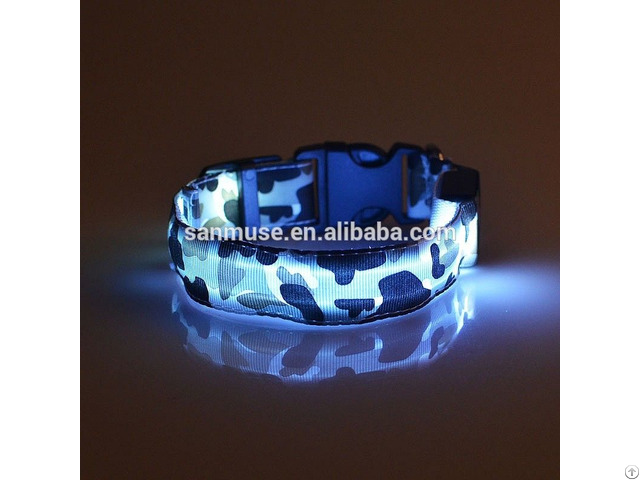 Led Pet Camouflage Collar