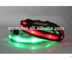Hot Sales Flash Led Pet Collar Products