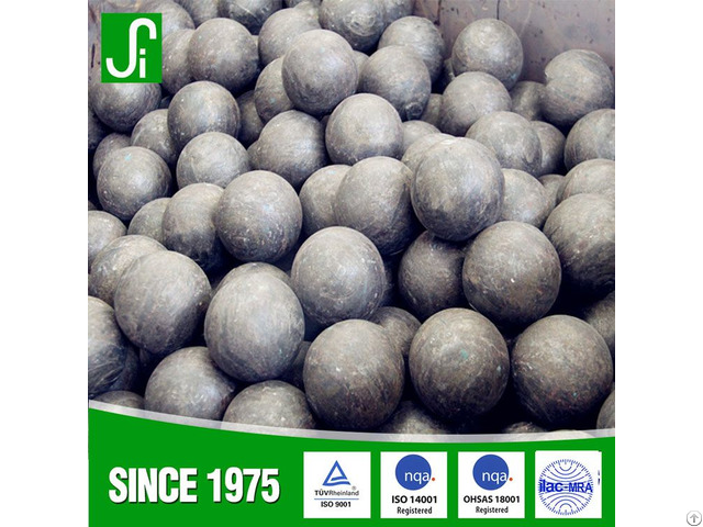 Forged Grinding Steel Ball For Mining Cement Factory Power Plant