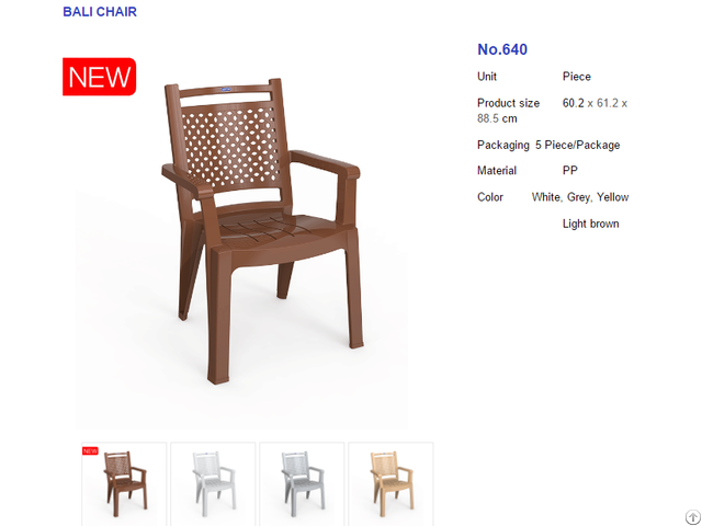 Plastic Chair Duy Tan Plastics