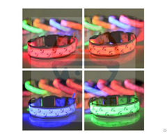 Hot New Arrive Dog Glow Flashing Led Collar Puppy