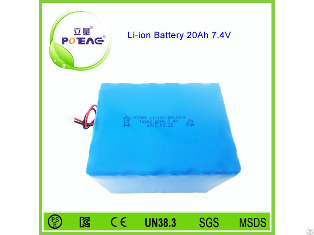 2s10p 18650 7 4v 20000mah Li Ion Battery Pack