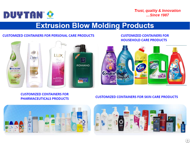 Plastic Packaging Bottles Duy Tan Plastics Vietnam