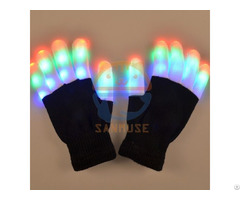 Led Flashing Glove For Festival Halloween,christmas,thanksgiving Day