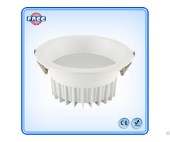 New Round White Aluminum Led Downlight Lamp Shell