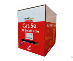 Cat5e Plenum Bulk Utp 24awg Ethernet Networking Cable