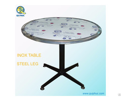 Once Pillar Restaurant Inox Table Vietnam