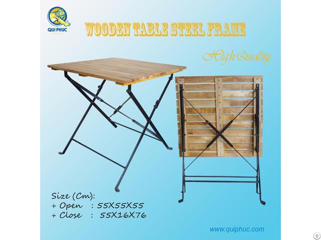 Folding Wooden Table Outdoor Vietnam