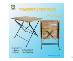 Folding Wooden Table Outdoor Vietnam