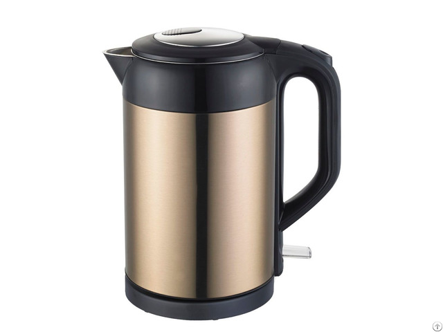 Double Stainless Steel Layers Home Electric Kettle