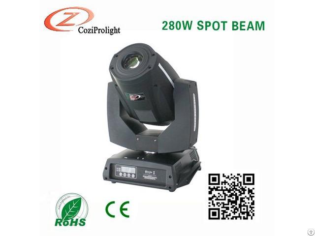 Moving Head 280 W Beam Spot Wash Sharpy Light