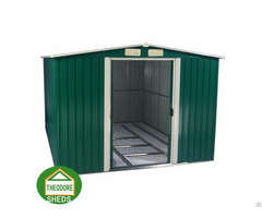 Garden Metal Shed Apex Roof 6 X8 Ft