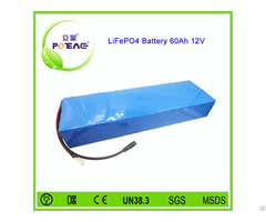 China 26650 Cell 12v 60ah Lifepo4 Battery For Solar Garden Lighting