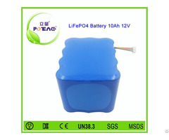 Rechargeable 26650 Lifepo4 Battery 12v 10ah For Control Monitor